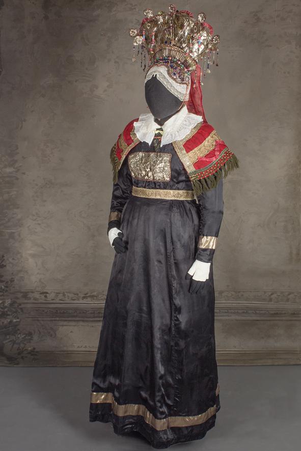 Kymenlaaksolainen kruunumorsian 1800-luvulta
