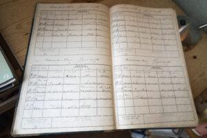 Opettajien päiväkirjoja Kuorsalon koululla